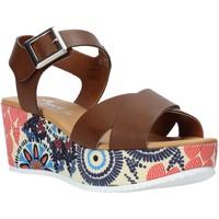 Sapatos Mulher Sandálias Grace Shoes 12 Castanho