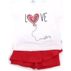 Textil Rapariga Conjunto Melby 20L7001 Vermelho