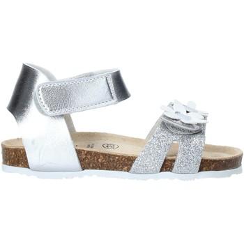 Sapatos Rapariga Sandálias Grunland SB1545 Prata