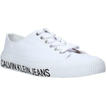 Sapatos Mulher Sapatilhas Calvin Klein Jeans B4R0807X Branco