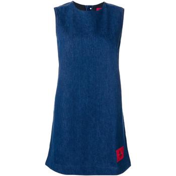 Textil Mulher Vestidos curtos Calvin Klein Jeans J20J207406 Azul