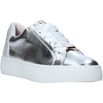 Sapatos Mulher Sapatilhas Love To Love TER32 Prata