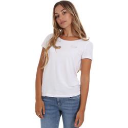Textil Mulher T-Shirt mangas curtas Emporio Armani EA7 8NTT64 TJ28Z Branco