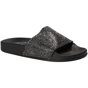 Sapatos Mulher chinelos Chiara Pacini C18E2506 Preto
