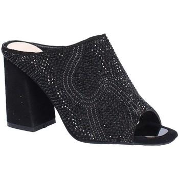 Sapatos Mulher Chinelos Alma En Pena V18276 Preto