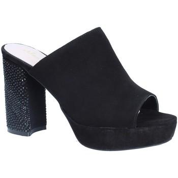 Sapatos Mulher Chinelos Alma En Pena V18256 Preto