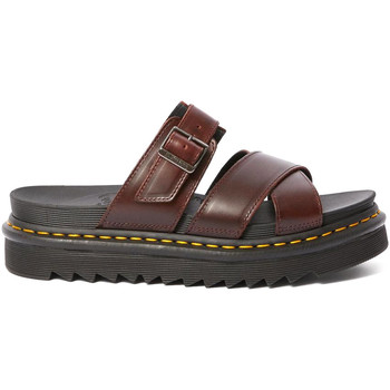 Sapatos Mulher Sandálias Dr Martens DMSRYKCHBR24515211 Castanho