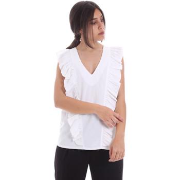 Textil Mulher Tops / Blusas Gaudi 011BD45031 Branco