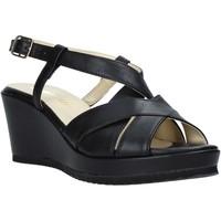 Sapatos Mulher Sandálias Esther Collezioni ZB 018 Preto