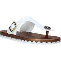 Sapatos Mulher Chinelos Sensi 4050/P Branco