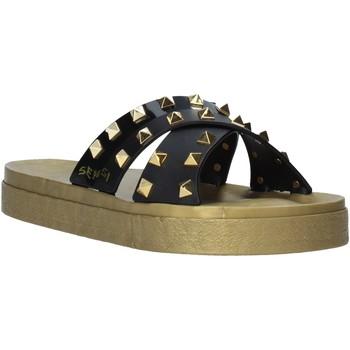 Sapatos Mulher Chinelos Sensi 4390/PY Preto