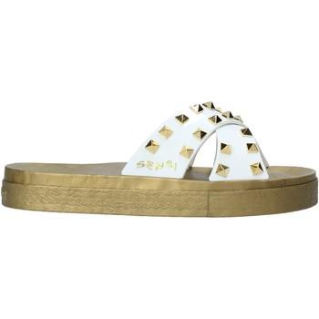 Sapatos Mulher Chinelos Sensi 4390/PY Branco