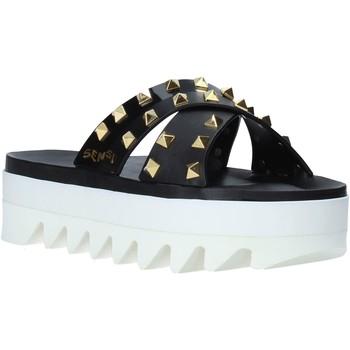 Sapatos Mulher Chinelos Sensi 4380/LX Preto