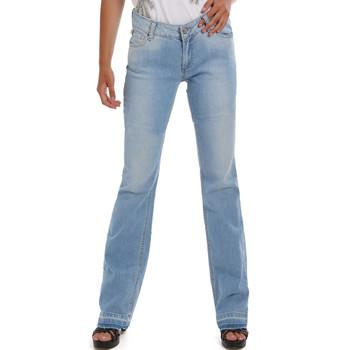 Textil Mulher Calças de ganga Fornarina BER1I98D834MM Azul