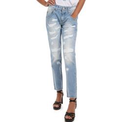 Textil Mulher Calças de ganga Fornarina BER1I95D832DU Azul
