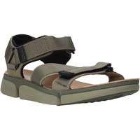 Sapatos Homem Sandálias Clarks 26139564 Verde
