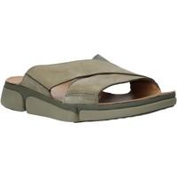Sapatos Homem Chinelos Clarks 26139561 Verde