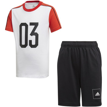 Textil Criança Todos os fatos de treino adidas Originals FL2810 Branco