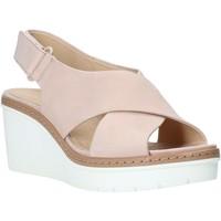 Sapatos Mulher Sandálias Clarks 26141165 Rosa