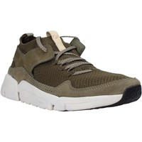 Sapatos Homem Sapatilhas Clarks 26141023 Verde