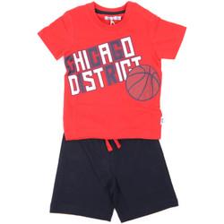 Textil Rapaz Conjunto Melby 90L9100 Vermelho