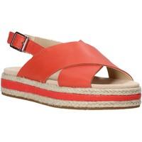 Sapatos Mulher Sandálias Clarks 26139246 Vermelho