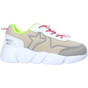 Sapatos Rapariga Sapatilhas Miss Sixty S20-SMS738 Cinzento
