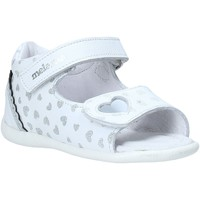 Sapatos Rapariga Sandálias Melania ME0820A0S.A Prata