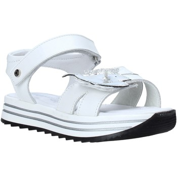 Sapatos Rapariga Sandálias Melania ME4065D0S.B Branco