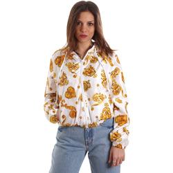 Textil Mulher Sweats Versace C9HVB92525115003 Branco