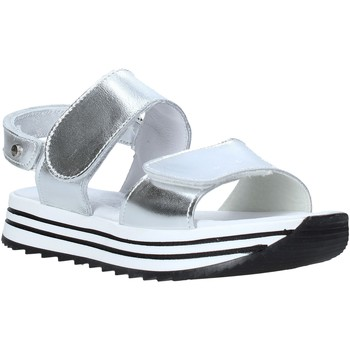 Sapatos Rapariga Sandálias Melania ME6109F0S.C Prata