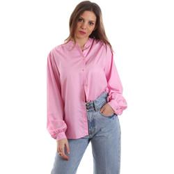 Textil Mulher camisas Versace B0HVB62307619445 Rosa