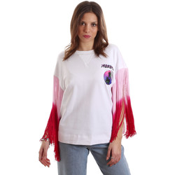 Textil Mulher T-Shirt mangas curtas Versace B2HVB71511701003 Branco