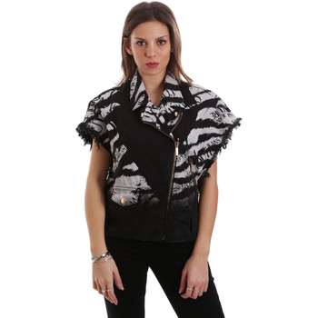 Textil Mulher Jaquetas Versace C0HVB92DHRC5X899 Preto