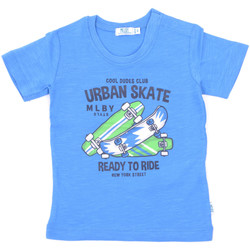 Textil Criança T-Shirt mangas curtas Melby 20E7370 Azul