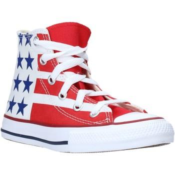 Sapatos Criança Sapatilhas de cano-alto Converse 667794C Branco