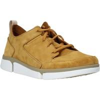 Sapatos Homem Sapatilhas Clarks 26139571 Amarelo