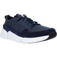 Sapatos Homem Sapatilhas Clarks 26141432 Azul