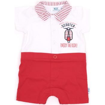 Textil Rapariga Macacões/ Jardineiras Melby 20P7370 Vermelho