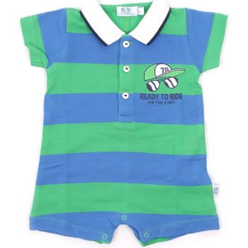 Textil Criança Macacões/ Jardineiras Melby 20P7130 Azul
