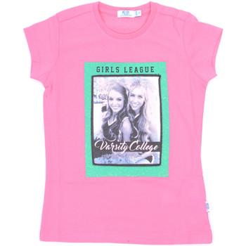 Textil Rapariga T-Shirt mangas curtas Melby 70E5645 Rosa
