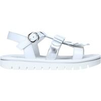 Sapatos Rapariga Sandálias NeroGiardini E031617F Branco