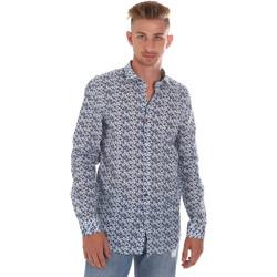 Textil Homem Camisas mangas comprida Sseinse CE508SS Azul