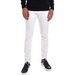 Textil Homem Calças de ganga slim Gaudi 011BU25061 Branco