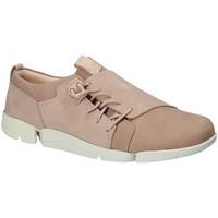 Sapatos Mulher Sapatilhas Clarks 131761 Rosa