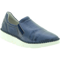 Sapatos Mulher Slip on Mally 5711 Azul