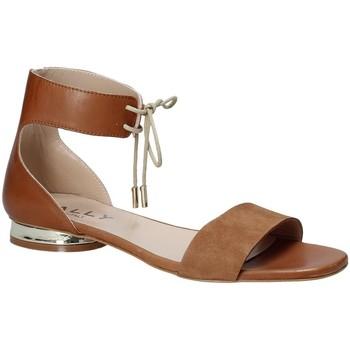Sapatos Mulher Sandálias Mally 5826 Castanho
