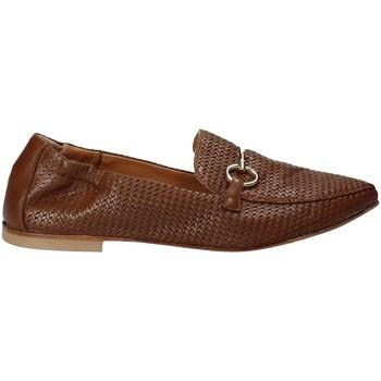 Sapatos Mulher Mocassins Mally 6264 Castanho