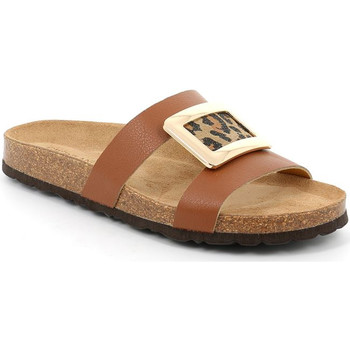 Sapatos Mulher Chinelos Grunland CB2466 Castanho