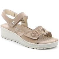 Sapatos Mulher Sandálias Grunland SA2580 Bege